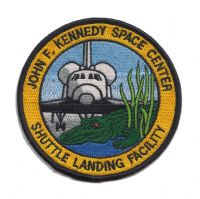 Kennedy Space Center Shuttle Landing Facility Patch